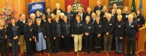 Street Pastors at the 3rd Anniversary and Commissioning Service Dec 2012